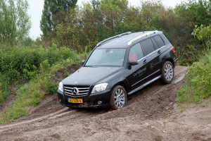 Mercedes-Benz GLK off road