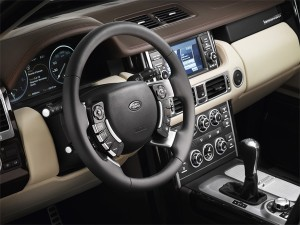 Range Rover 2010 interieur