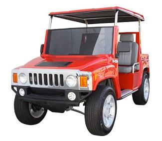 Hummer golfkarretje