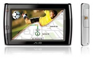 Mio V575 TV navigatiesysteem met digitale televisie