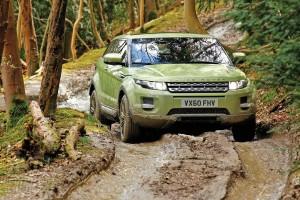 Land Rover Evoque off-road