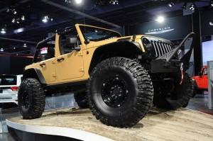 Jeep Wrangler Sand Trooper concept, SEMA 2012