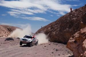 Toyota Hilux De Villiers in actie