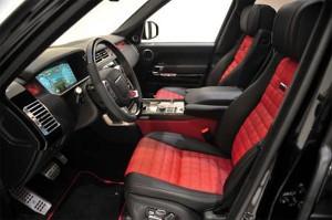 Brabus Range Rover interieur