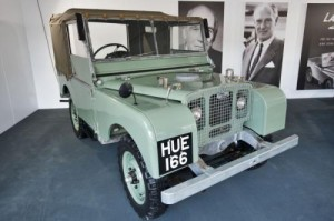 Land Rover HUE 166