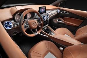 Mercedes GLA concept interieur