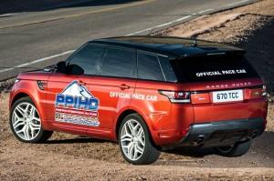 Range Rover Sport op Pikes Peak