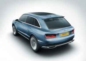 Bentley SUV tekening