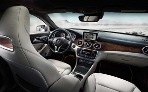 Mercedes-Benz GLA interieur