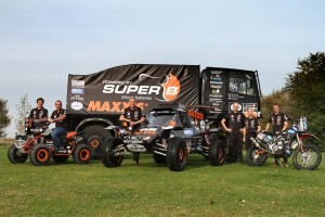 Maxxis Dakar team Tim Coronel Jurgen van der Goorbergh