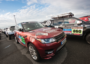 Land Rover partner van Red Bull in Dakar 2014