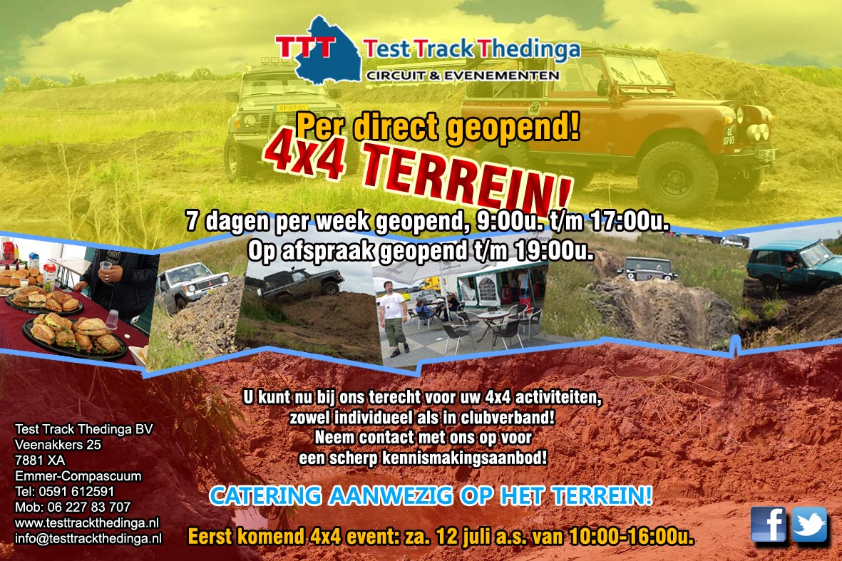 4x4 Terrein Test Track Thedinga