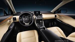 Lexus NX300h interieur