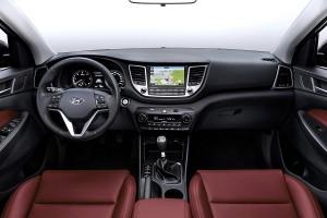Hyundai Tucson 2015 dashboard