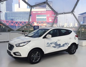 Hyundai ix35 Fuel Cell waterstof auto
