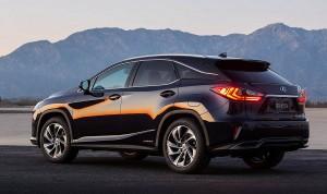Lexus RX 2015 achter