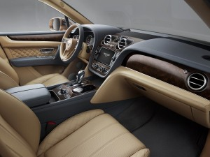 Bentley Bentayga interieur
