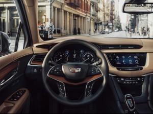Cadillac XT5 interieur