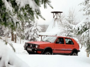 25 jaar VW Golf Country