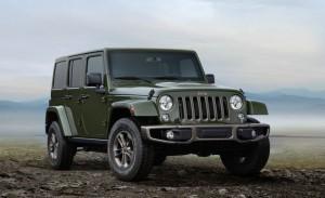 Jeep Wrangler 75 jaar Sarge groen