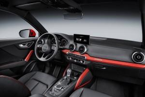 Audi Q2 interieur MMI