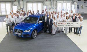 1 miljoenste Audi Q5 Ingolstadt