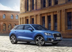 Audi Q2 blauw