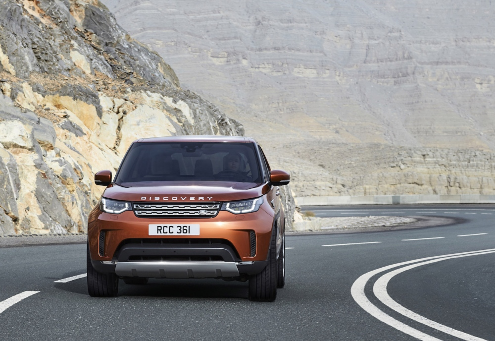 Land Rover all-new Discovery