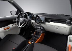 Interieur nieuwe Suzuki Ignis