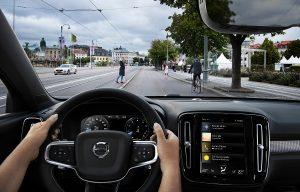 Nieuwe Volvo XC40 City Safety