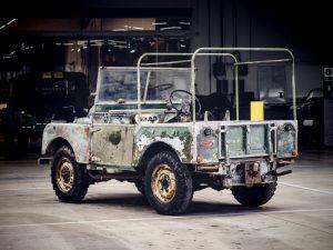 Land Rovers 70e verjaardagsfeest